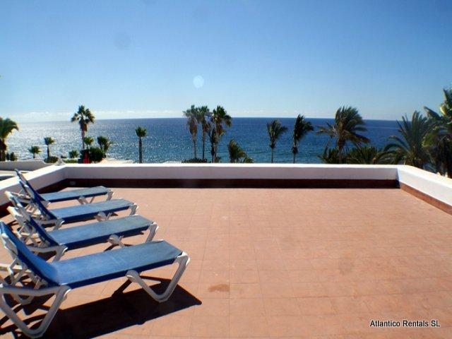 Sun terrace - Los Arcos , Puerto del Carmen, Lanzarote